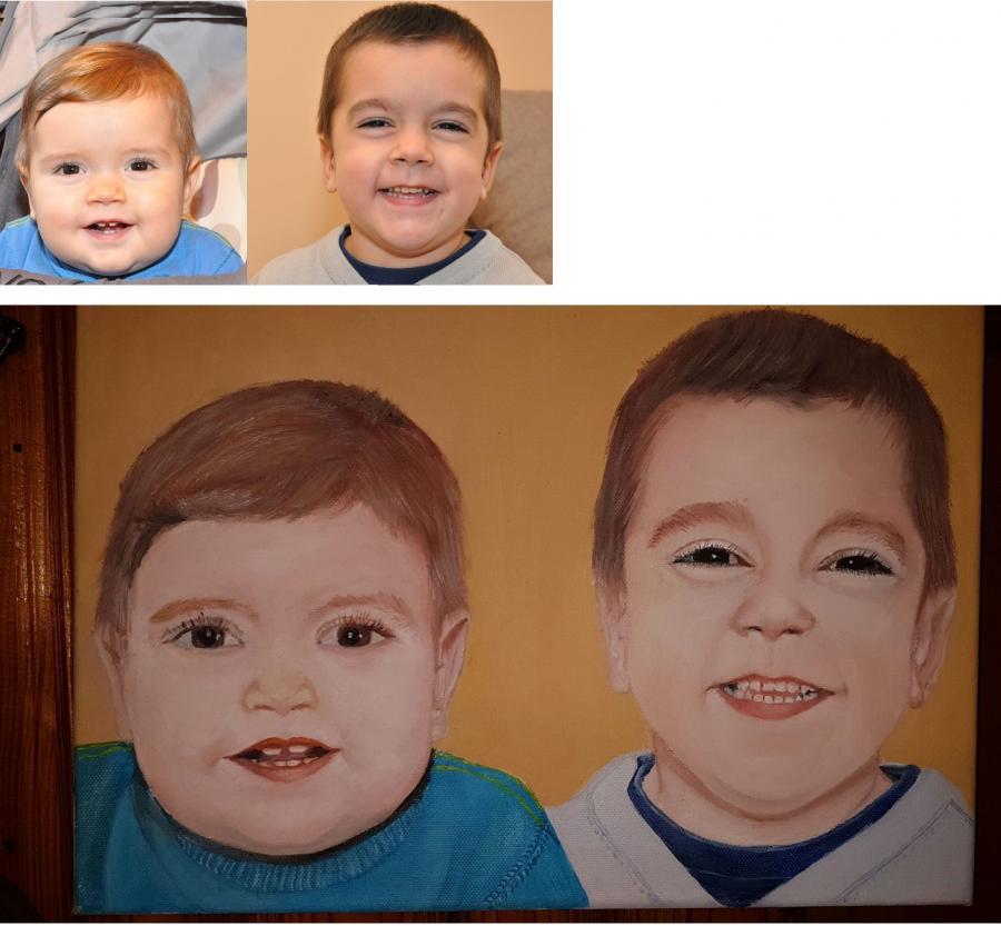 Picturi cu potrete/nuduri portrete 013