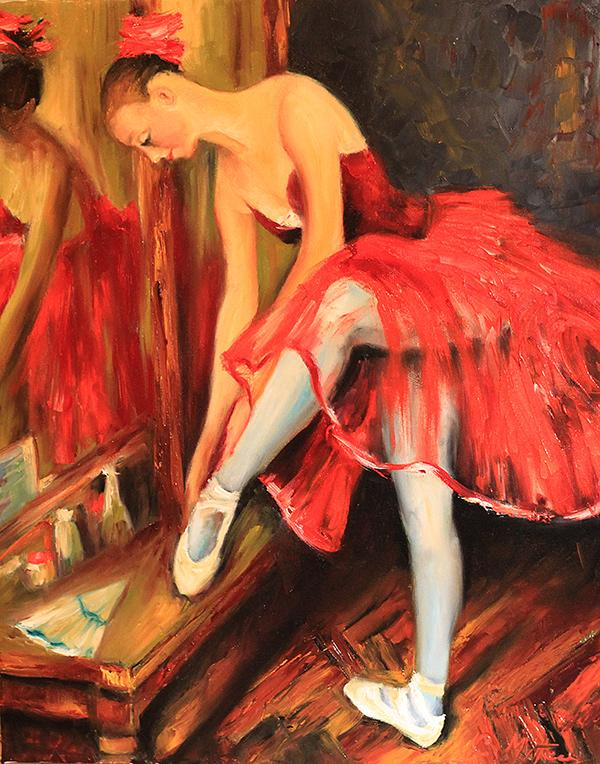 Picturi cu potrete/nuduri BALERINA 20