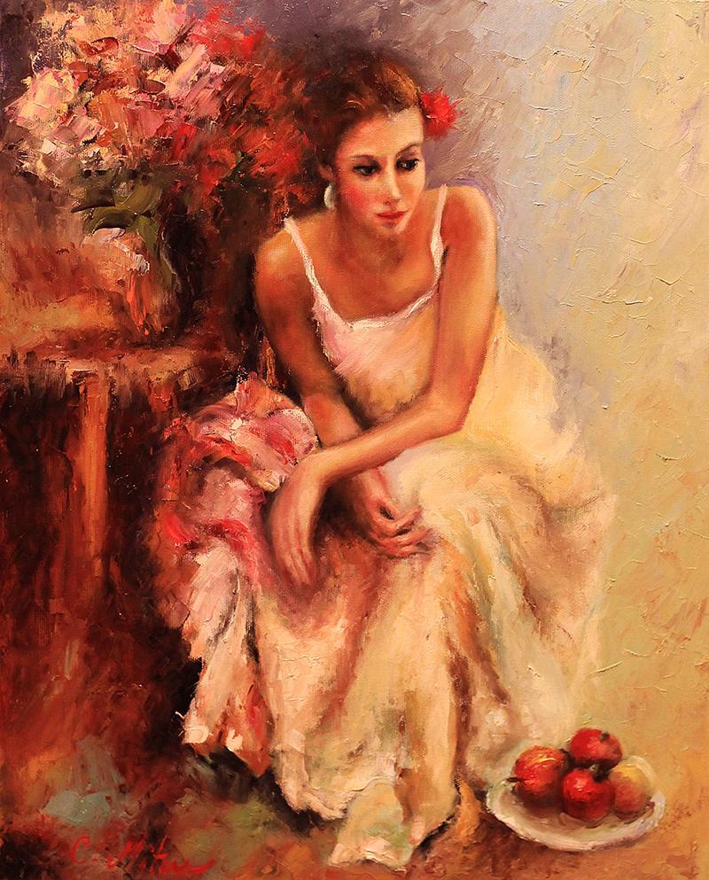 Picturi cu potrete/nuduri FLORAREASA 04