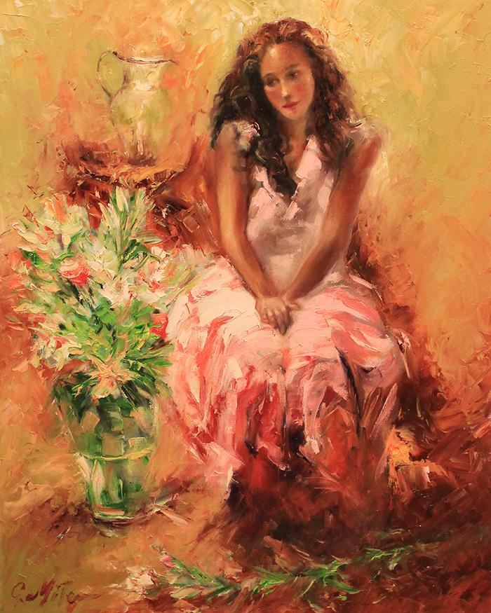 Picturi cu potrete/nuduri FLORAREASA 05