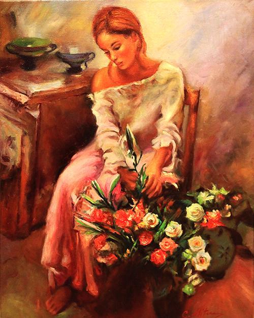 Picturi cu potrete/nuduri Florareasa 3