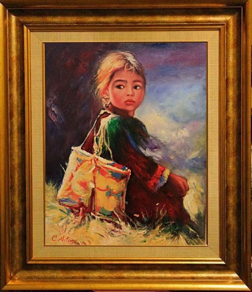 Picturi cu potrete/nuduri Inocenta 2