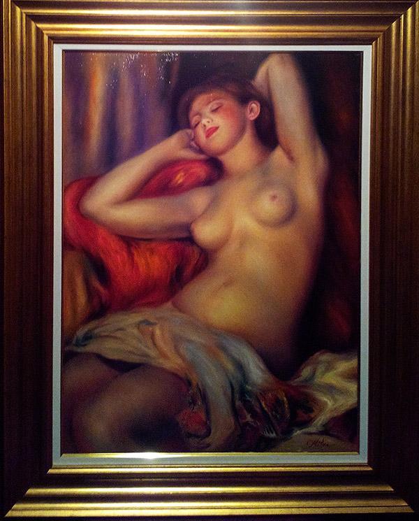 Picturi cu potrete/nuduri NUD 104