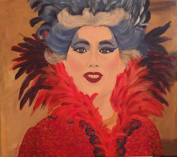 Picturi cu potrete/nuduri Carnaval la Venetia 01