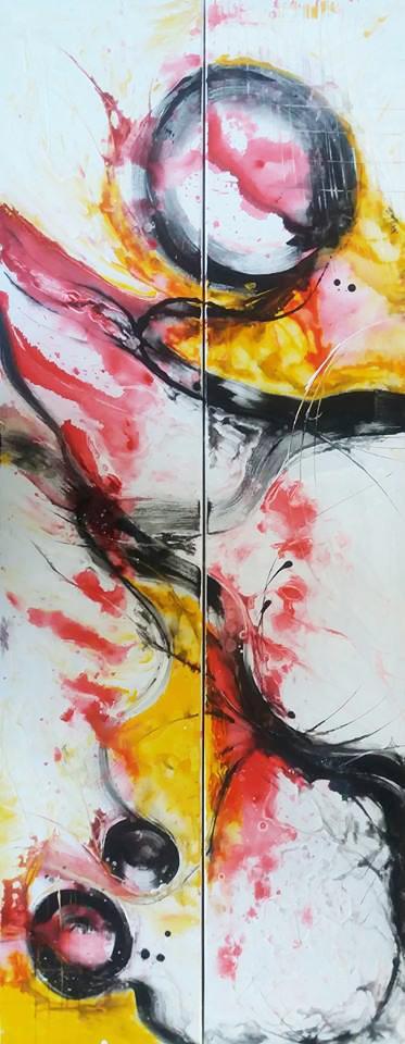 Picturi cu potrete/nuduri Dragonul