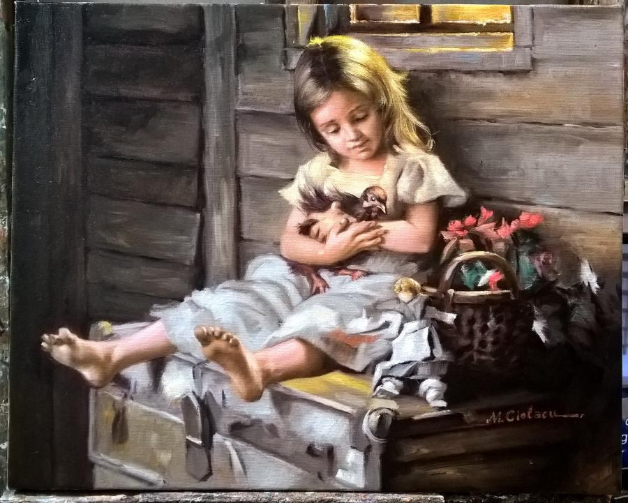 Picturi cu potrete/nuduri C 1