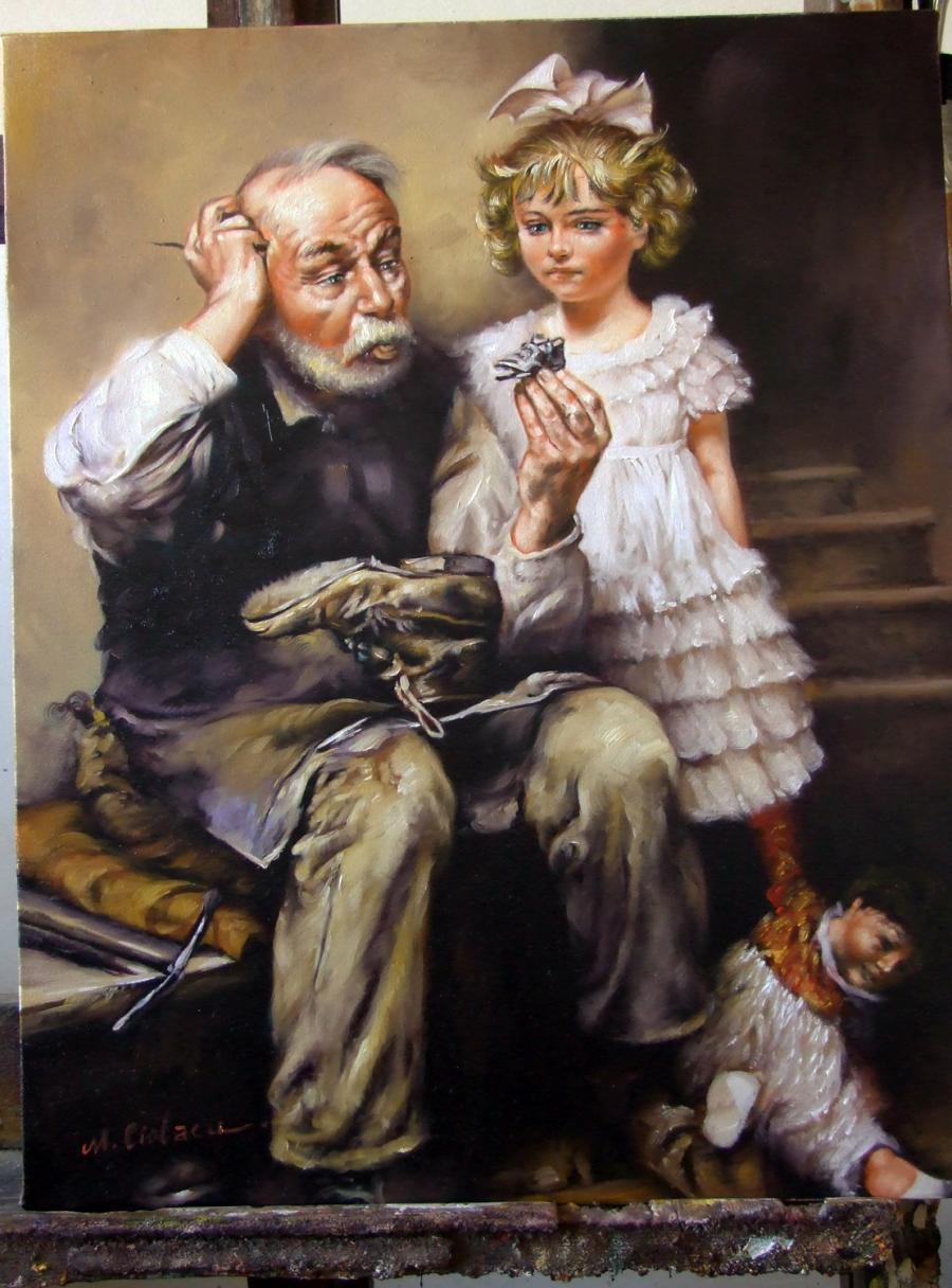 Picturi cu potrete/nuduri La Cizmar