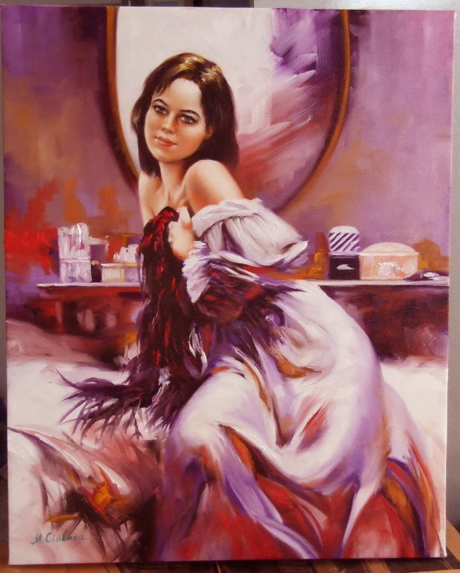 Picturi cu potrete/nuduri timida
