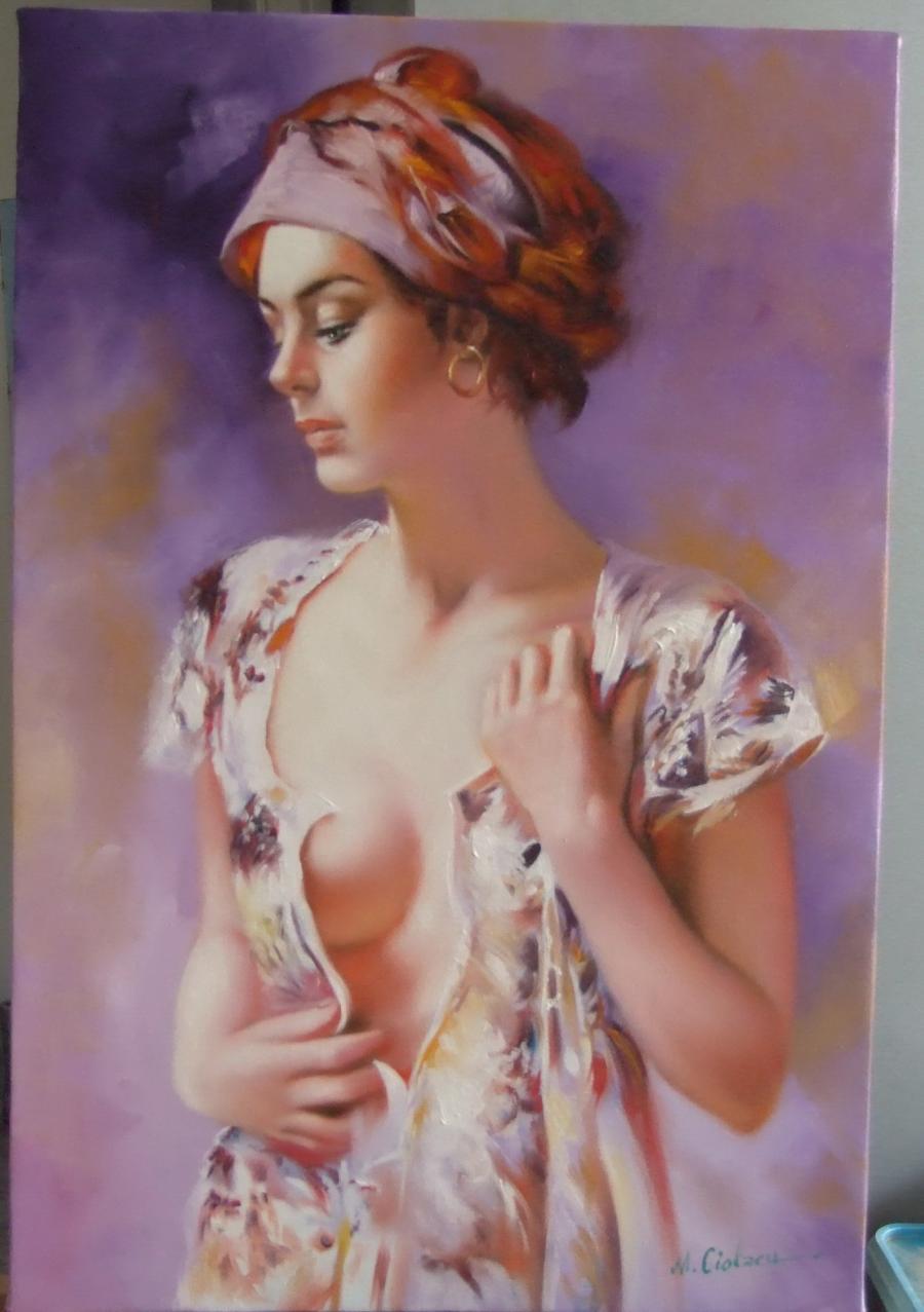 Picturi cu potrete/nuduri visatoarea