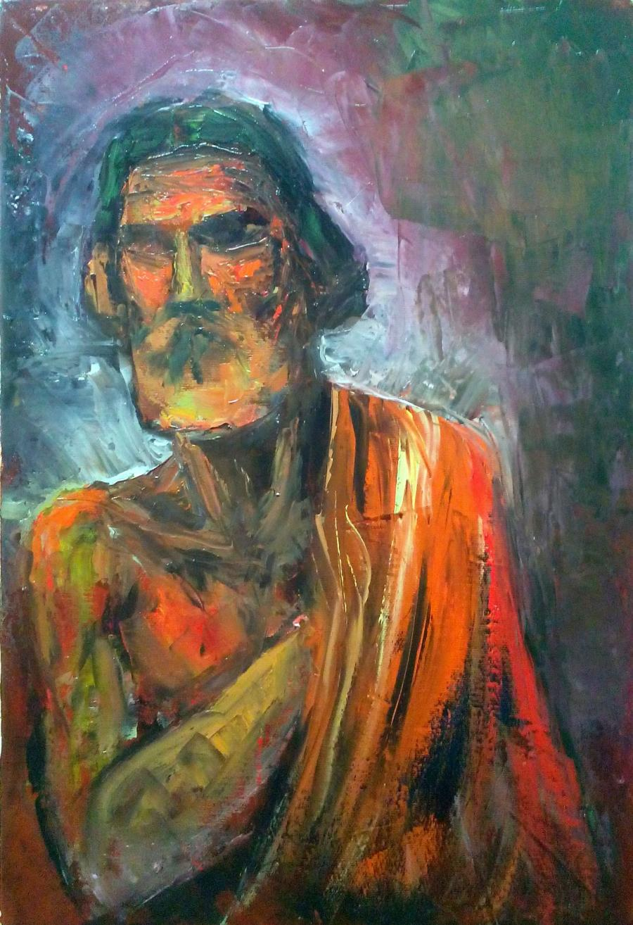 Picturi cu potrete/nuduri Iuda, 2016