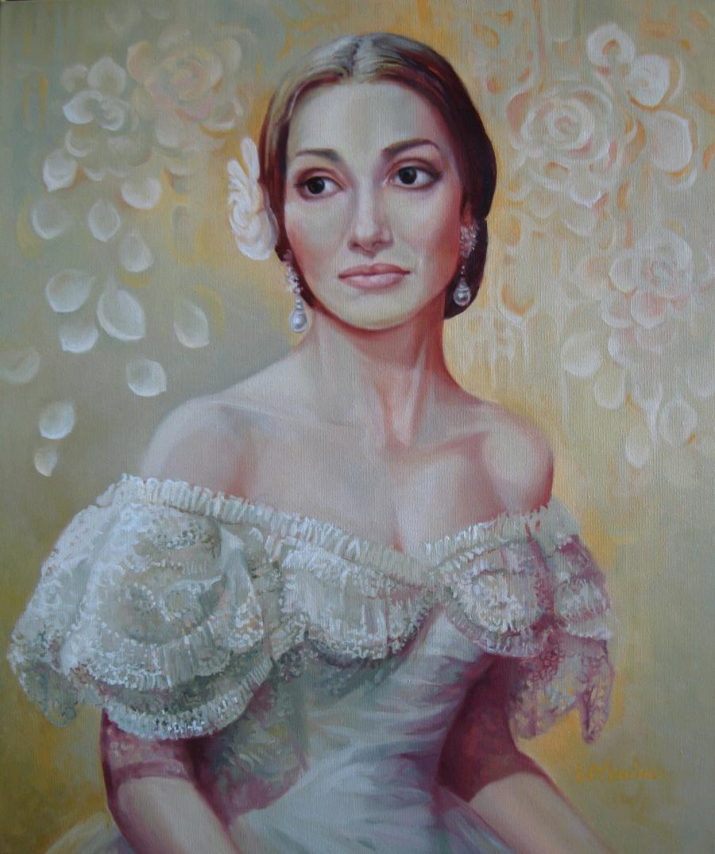 Picturi cu potrete/nuduri La Traviata