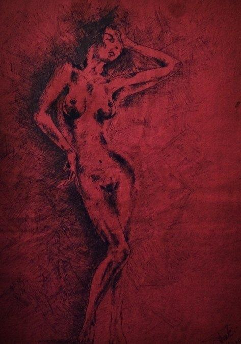 Picturi cu potrete/nuduri Hip