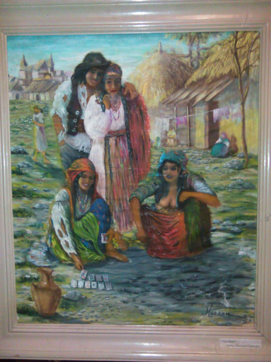 Picturi cu potrete/nuduri Satra