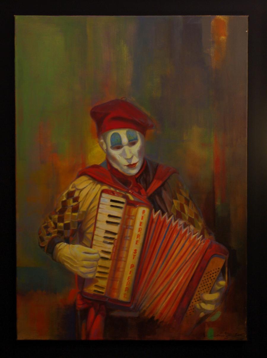 Picturi cu potrete/nuduri trubadurul