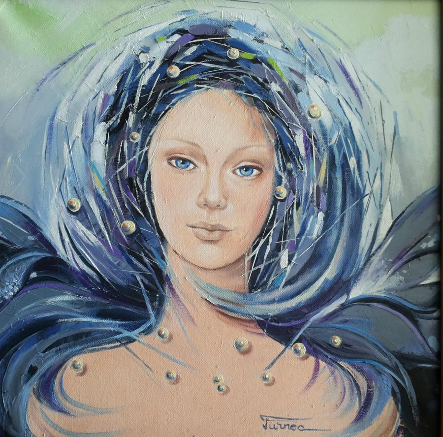 Picturi cu potrete/nuduri Iarna MF