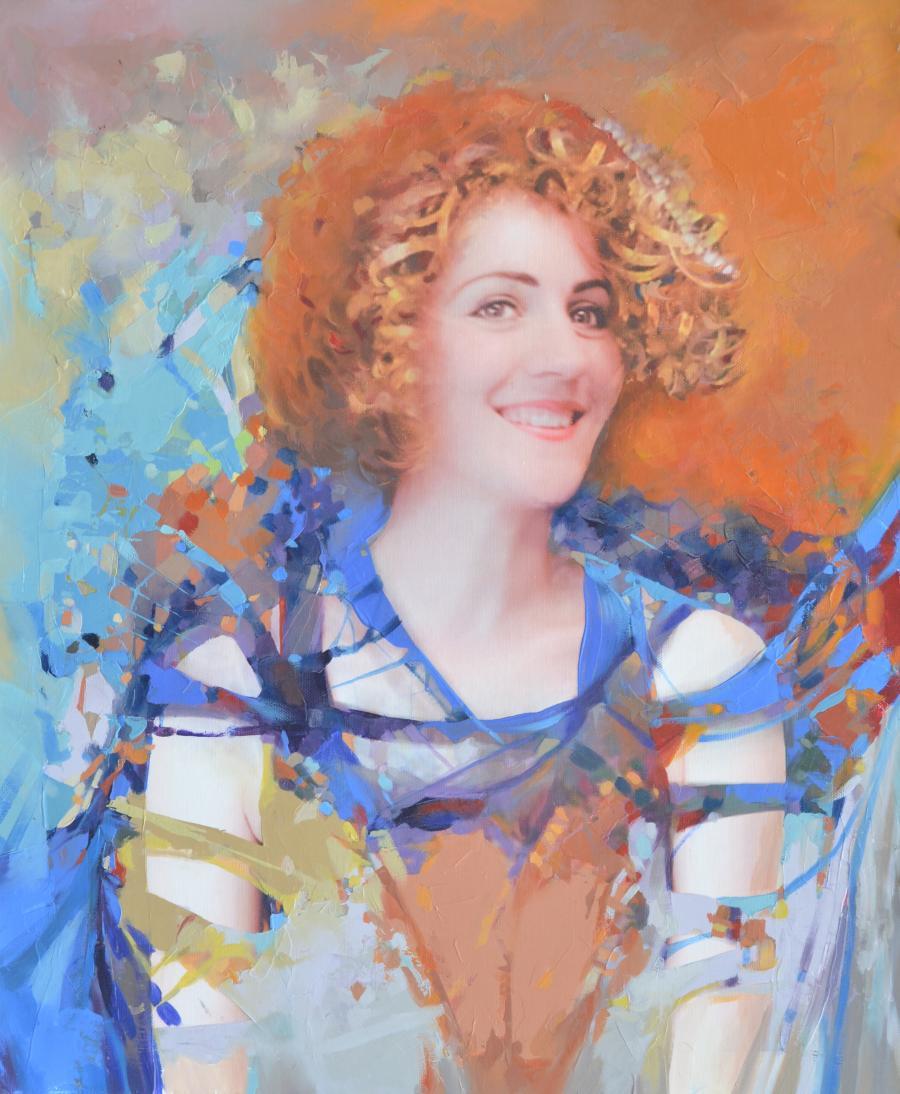 Picturi cu potrete/nuduri Katia 3