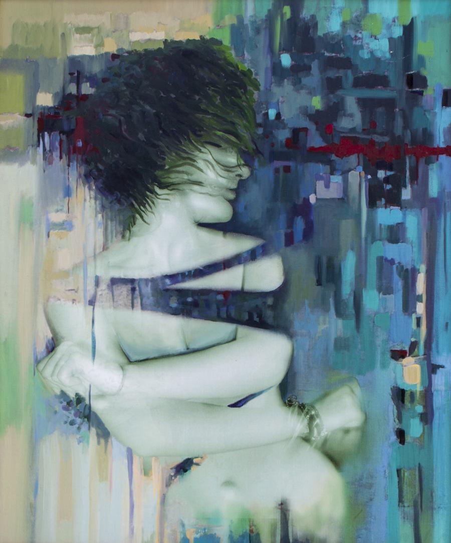 Picturi cu potrete/nuduri Oana 4