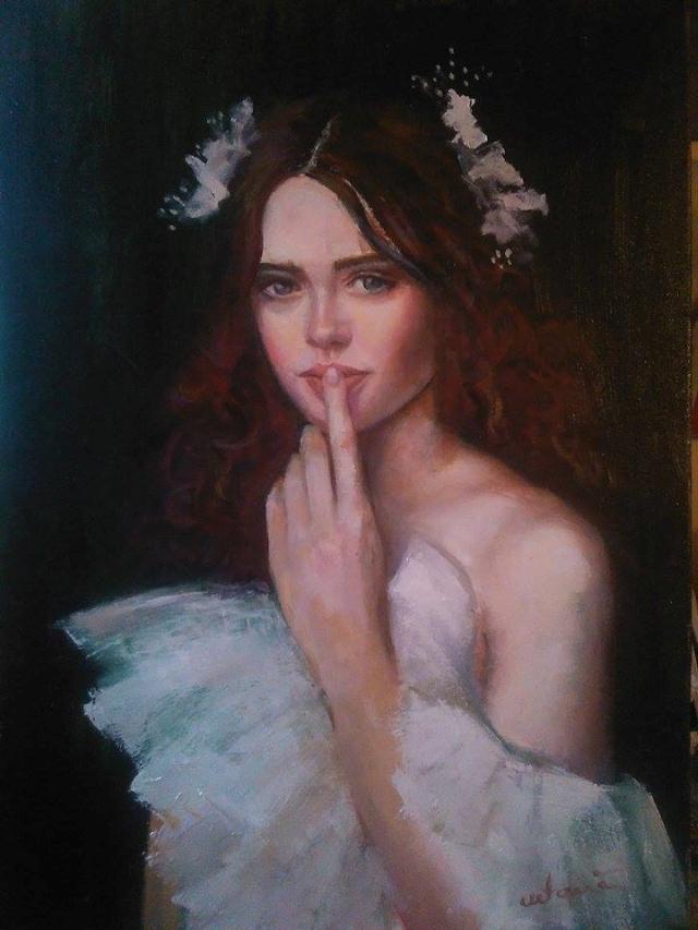Picturi cu potrete/nuduri Albele taceri