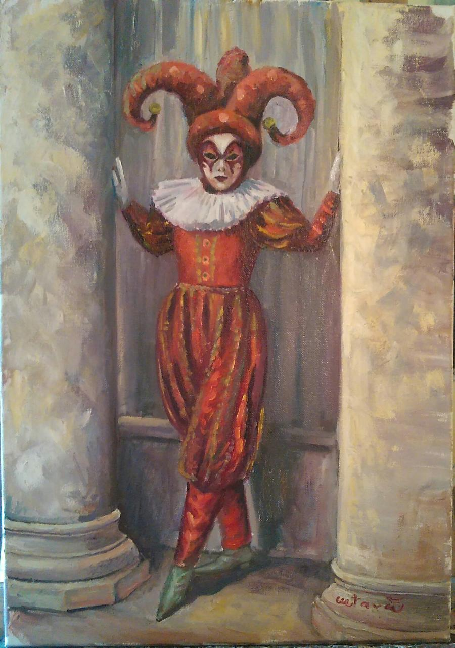 Picturi cu potrete/nuduri Carnaval!
