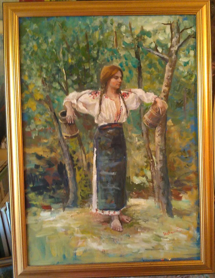 Picturi cu potrete/nuduri Rodica