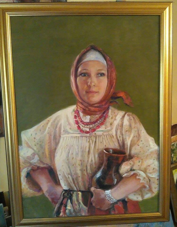 Picturi cu potrete/nuduri Stăpâna  casei