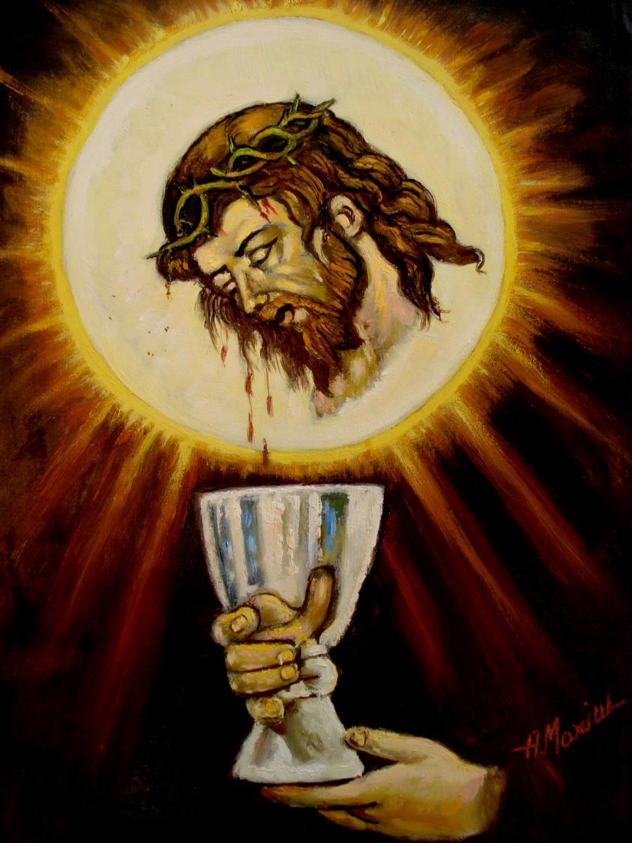 Picturi cu potrete/nuduri Crist