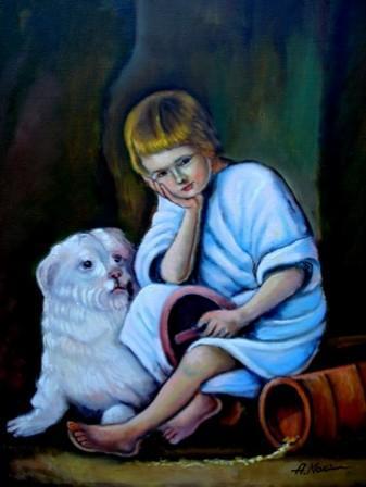 Picturi cu potrete/nuduri Melancolie02
