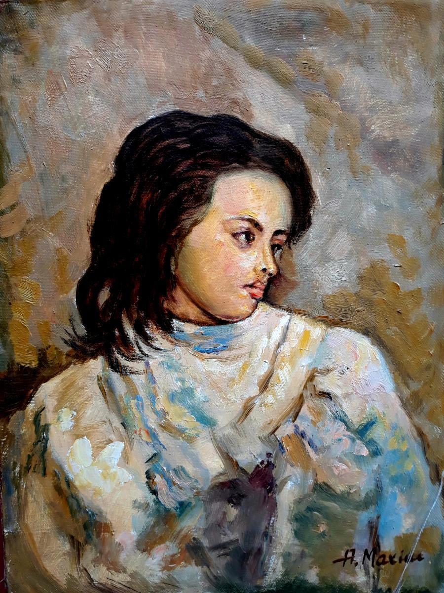 Picturi cu potrete/nuduri Portret de fata04