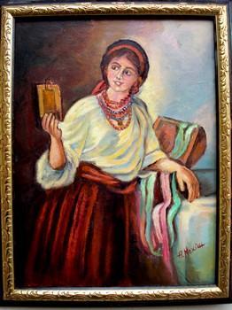 Picturi cu potrete/nuduri Portret Ucraineanca