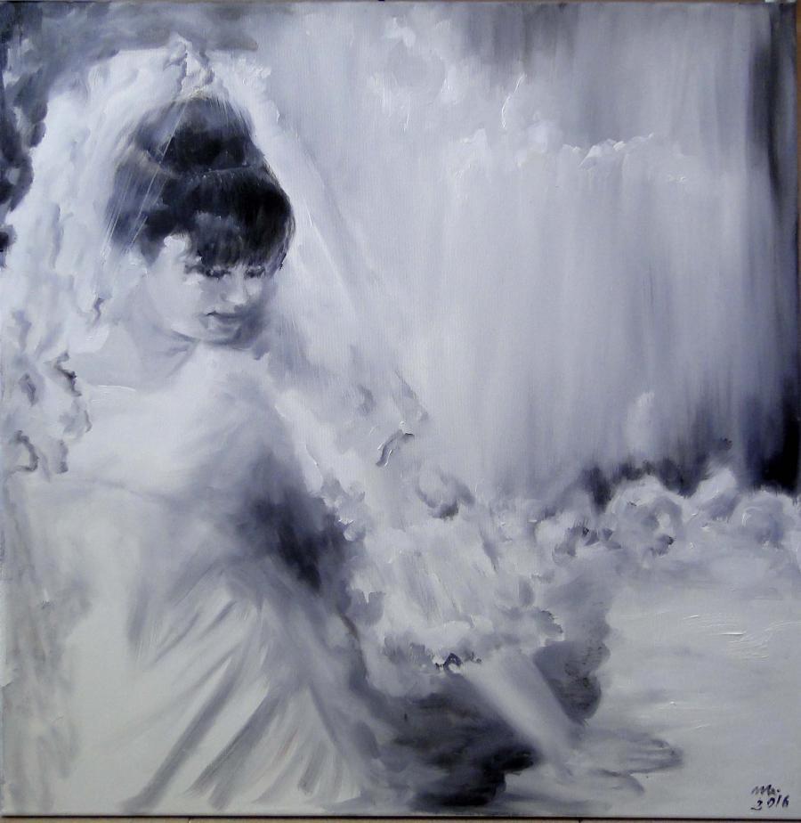 Picturi cu potrete/nuduri White for me