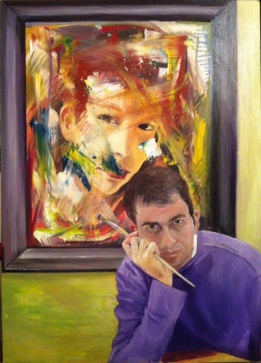 Picturi cu potrete/nuduri self-portret