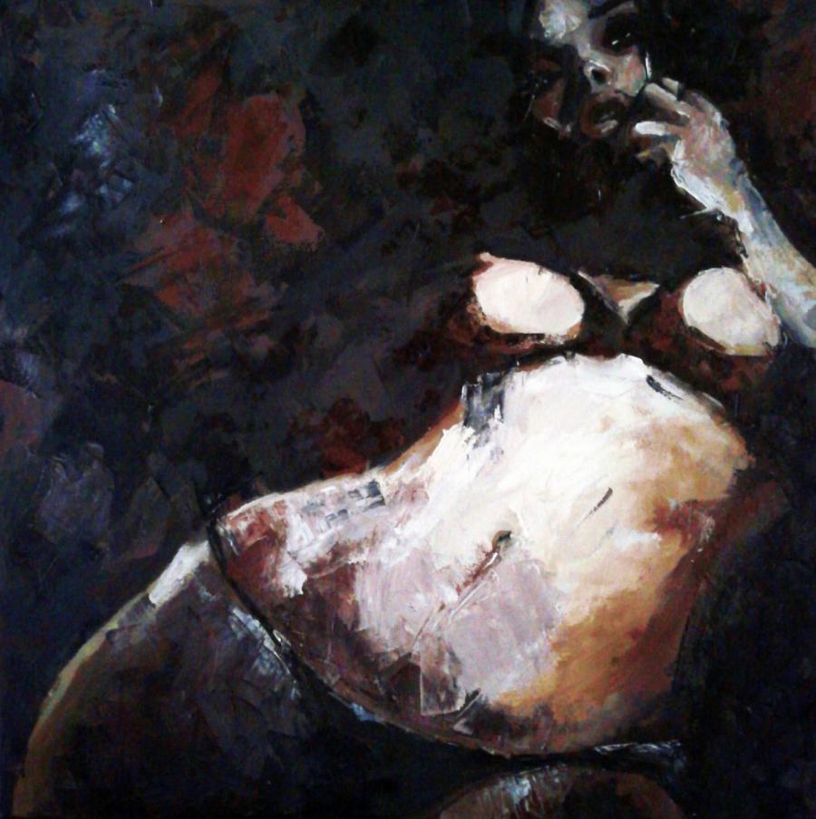 Picturi cu potrete/nuduri nud 5050