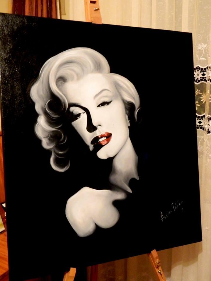 Picturi cu potrete/nuduri Alb si negru