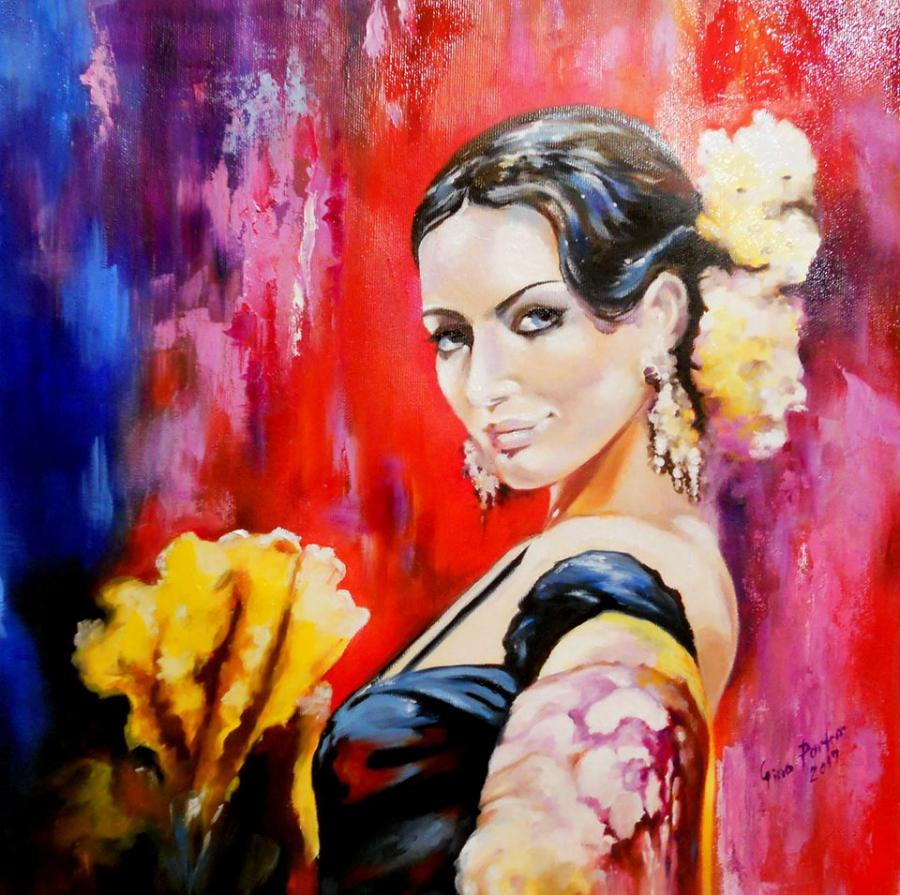 Picturi cu potrete/nuduri lustful look