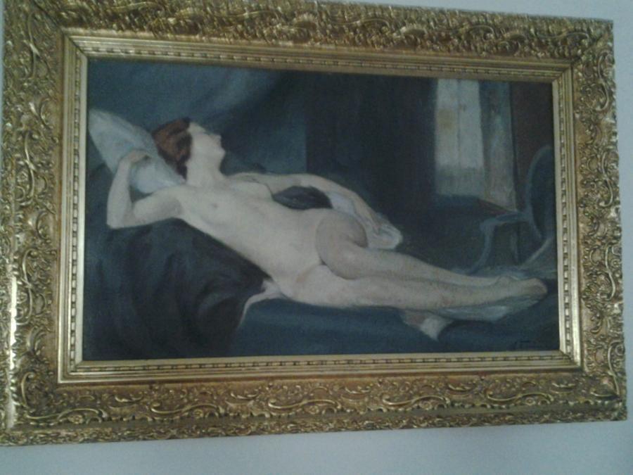 Picturi cu potrete/nuduri Nicolae Furduescu ( 1908-1954 )