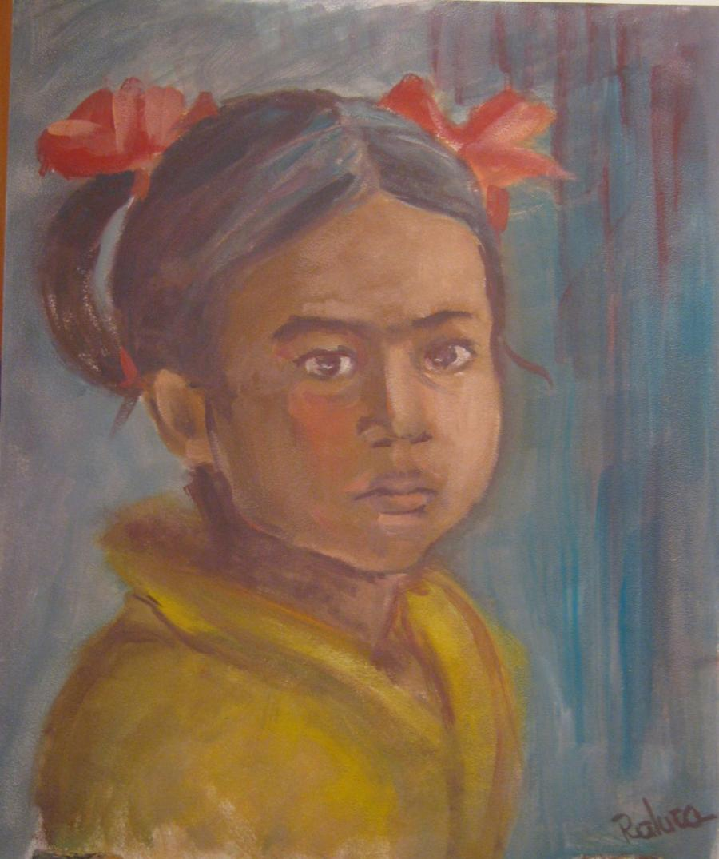 Picturi cu potrete/nuduri Little gipsy