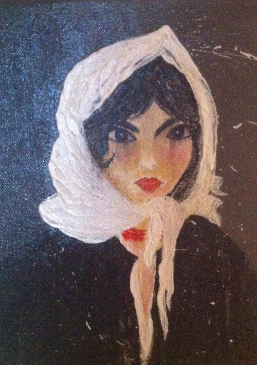 Picturi cu potrete/nuduri Victoria trista