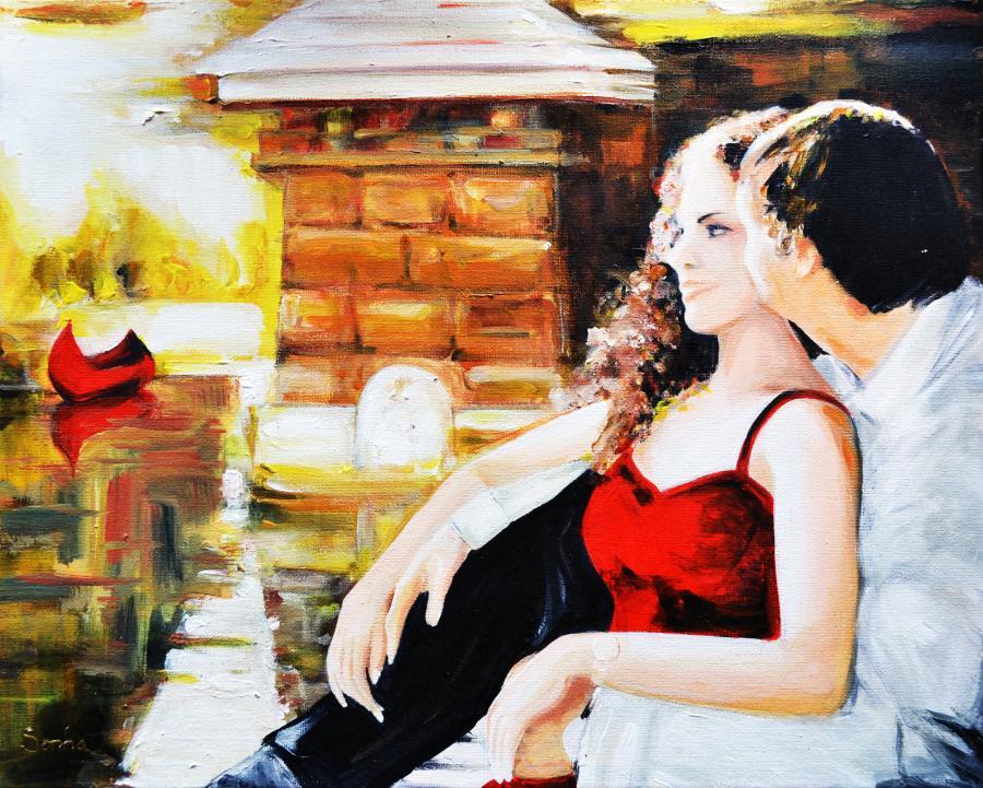 Picturi cu potrete/nuduri Romance
