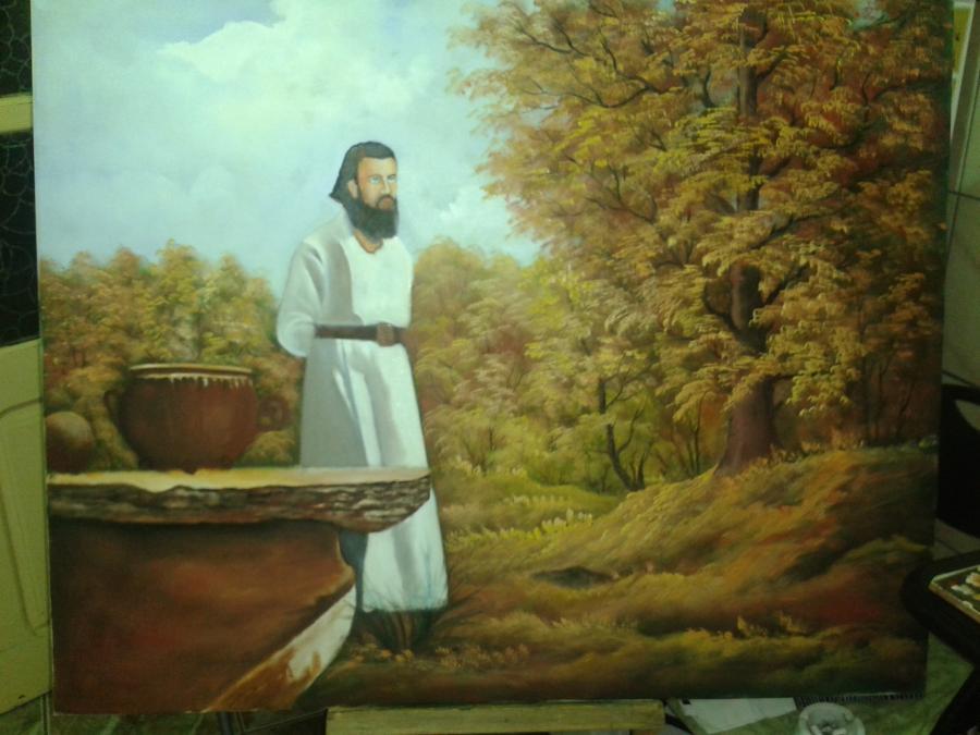 Picturi cu potrete/nuduri Arsene Boca