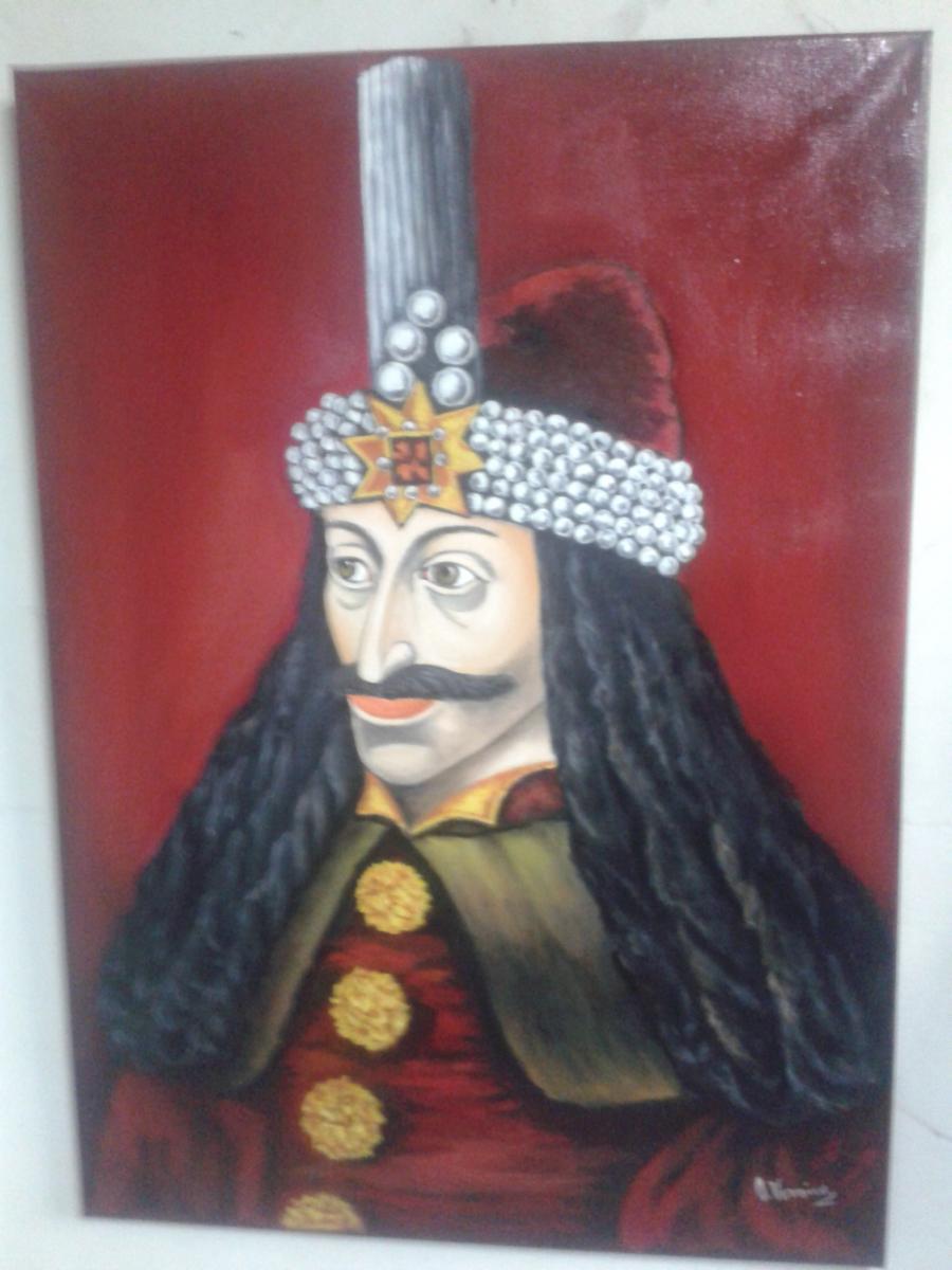 Picturi cu potrete/nuduri Vlad Tepes 2