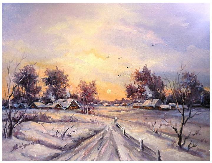 Picturi de iarna AMURG