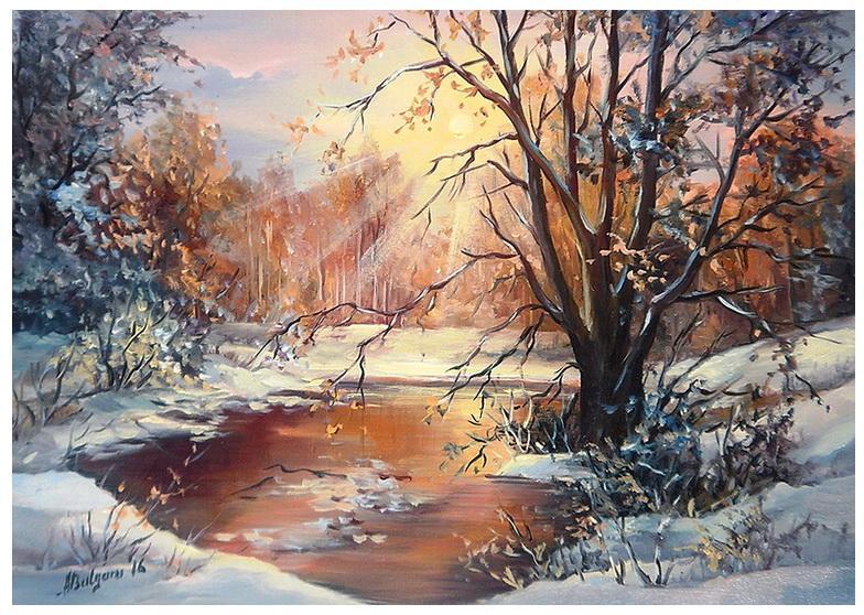 Picturi de iarna AMURG GEROS (2)