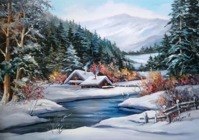 Picturi de iarna BASM  DE IANUAR