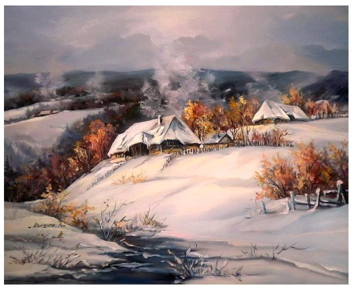 Picturi de iarna BASMUL GERULUI