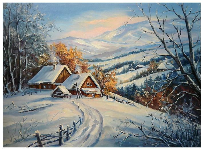 Picturi de iarna CULMI NINSE