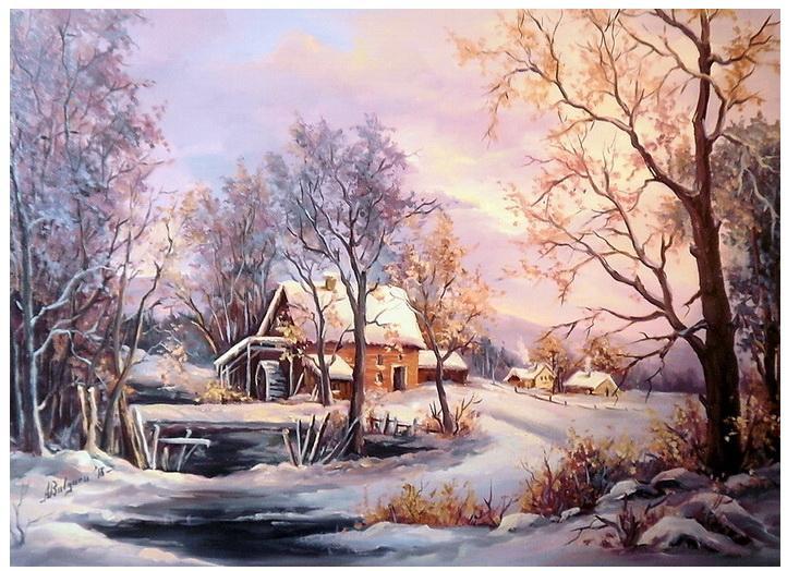 Picturi de iarna FILE DE POVESTE