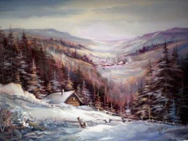 Picturi de iarna IARNA LA MAGURA 2010