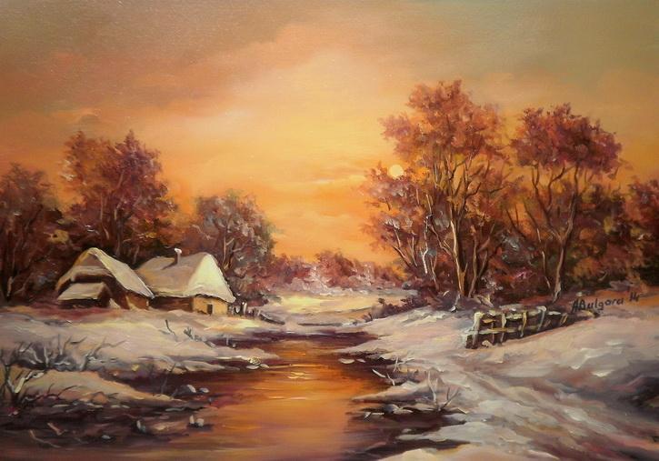 Picturi de iarna INSERARE DE BASM