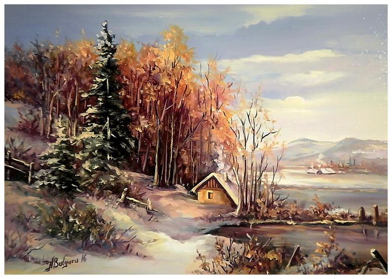 Picturi de iarna NOIEMBRIE NINS