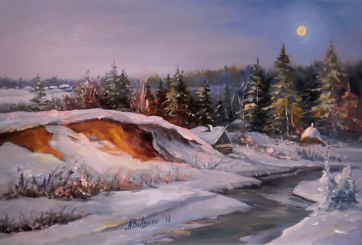 Picturi de iarna Timp magic